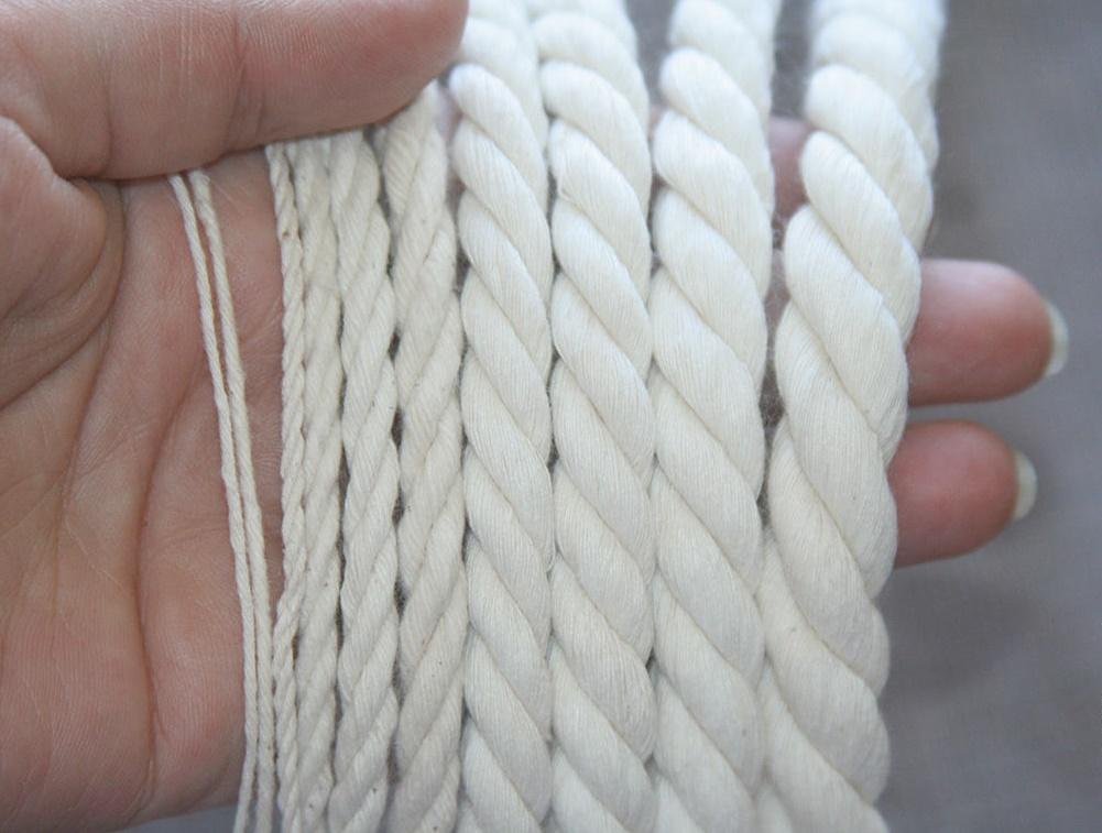 Хлопковый канатный шнур