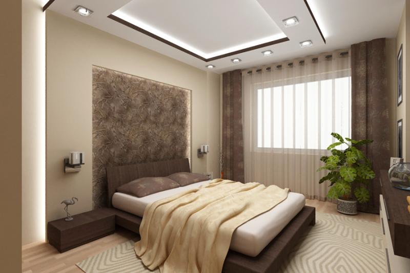 Этапы ремонта в спальне, и как сделать ремонт своими руками