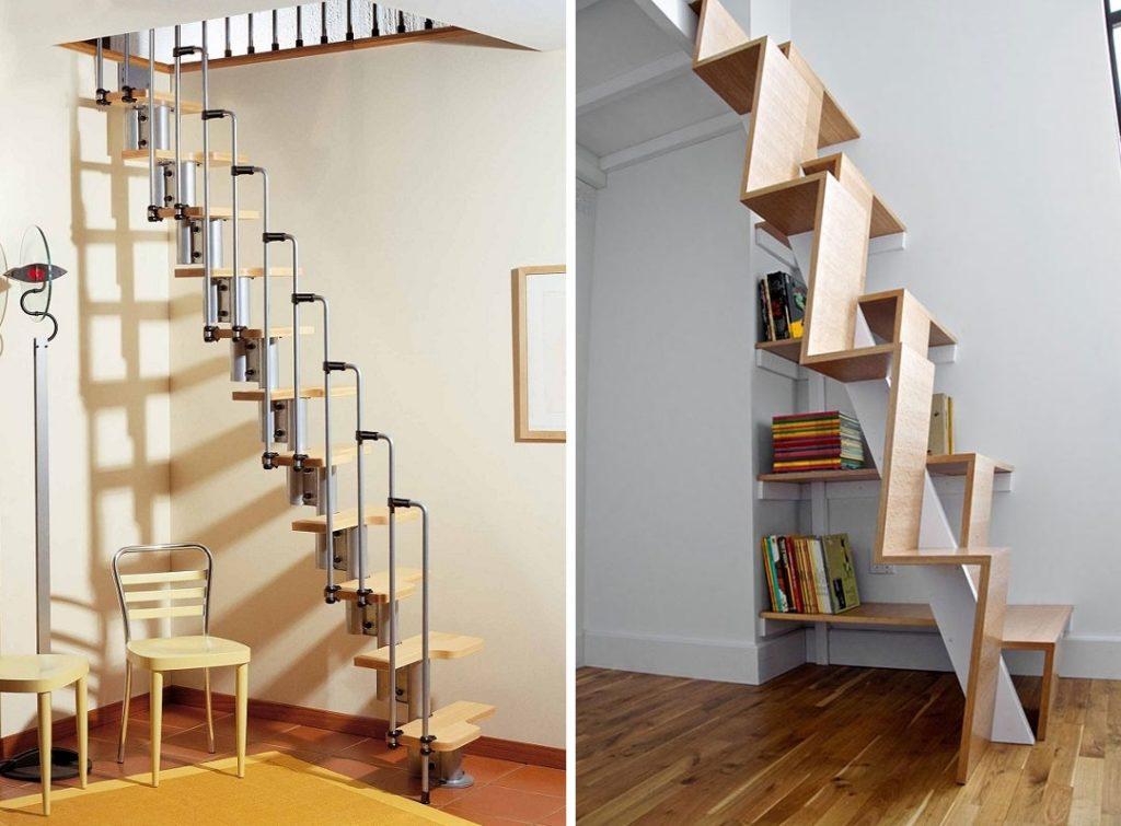 Лестницы с гусиным шагом