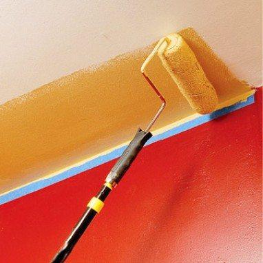 Покраска гипсокартона – пошаговая инструкция