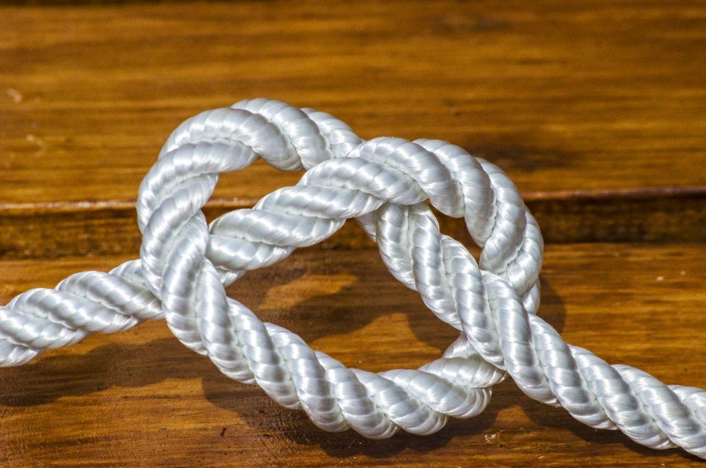 Капроновый полиамидный канатный шнур