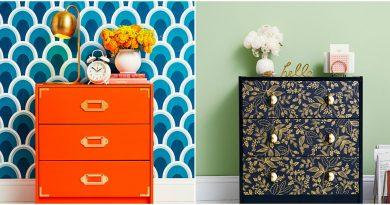 Деревянная мебель из IKEA: чем и как красить?