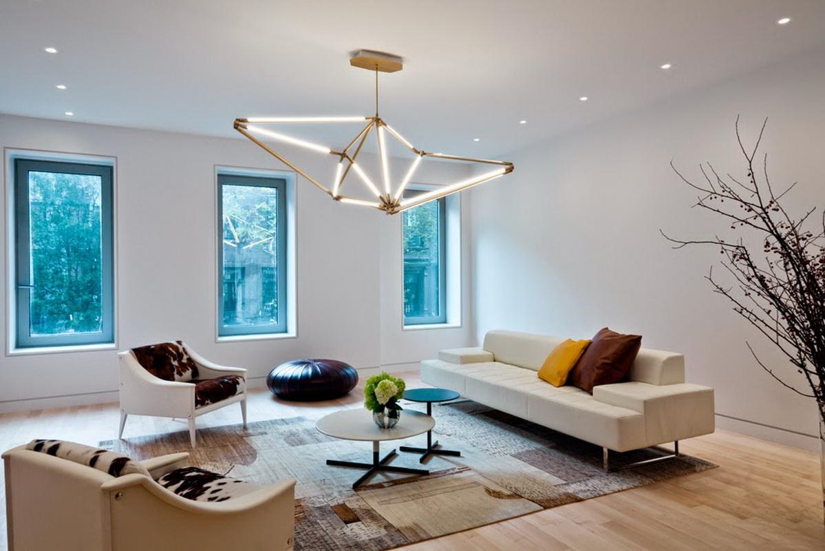 Как подобрать лампу к современному интерьеру?