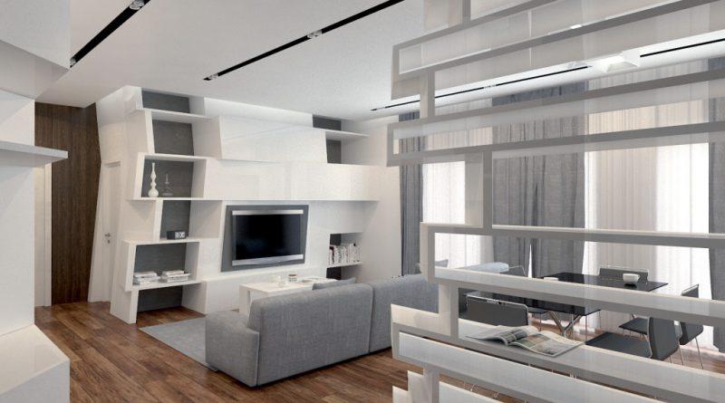 диван и телевизор