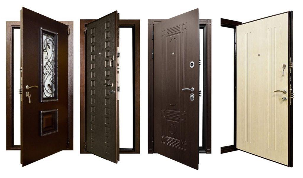 Входные металлические двери с терморазрывом
