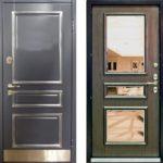 Стоит ли покупать входную дверь с зеркалом? Плюсы и минусы [разнообразие моделей]