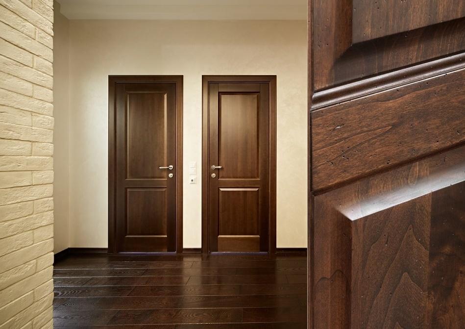 Шумоизоляционные межкомнатные двери из дерева