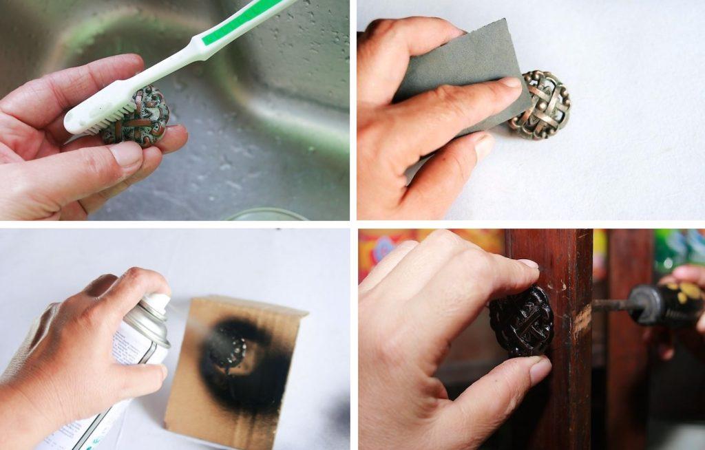 Как обновить дверную ручку