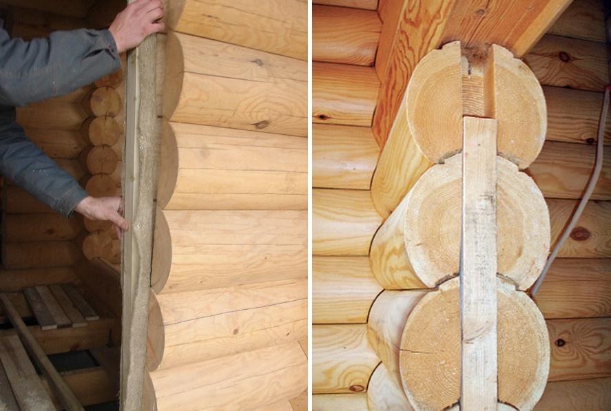 Как установить дверь в деревянном доме