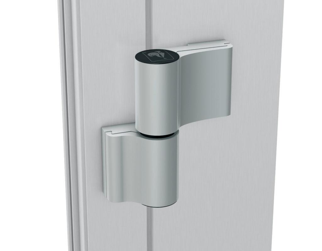 Петли для входных алюминиевых дверей