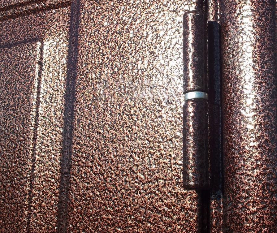 Металлическая дверь с порошковым покрытием