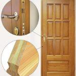 Входные двери из дерева: основные виды, конструктивные особенности и преимущества |+55 фото