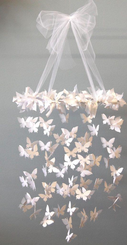 подвесные бабочки