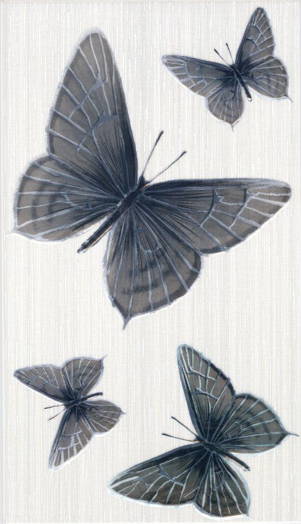 серые бабочки