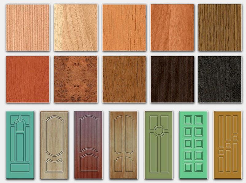 Накладные фасады на двери