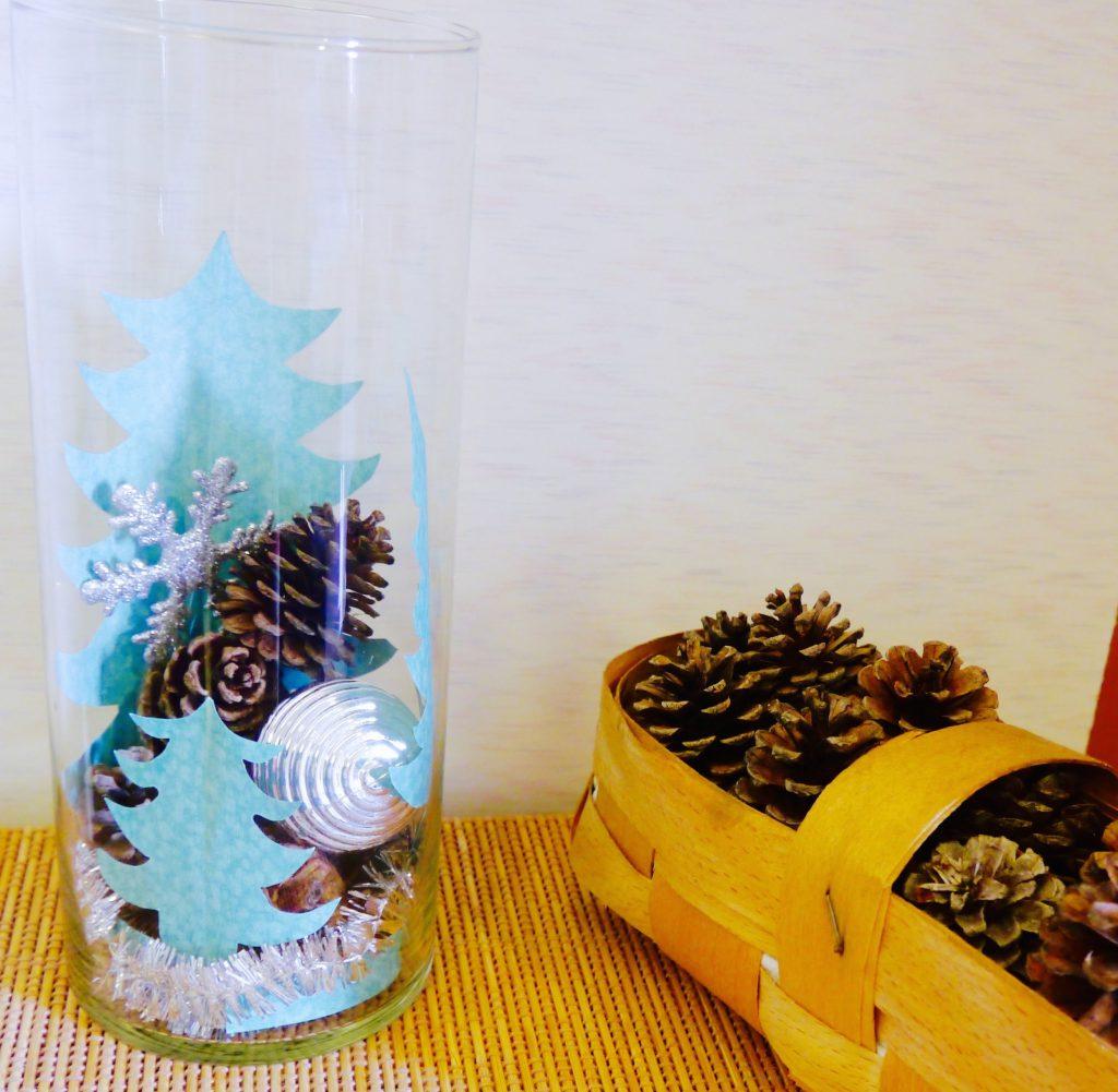 вазы с наклеками