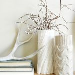 ваза с сухими ветками