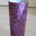 покрашенная ваза