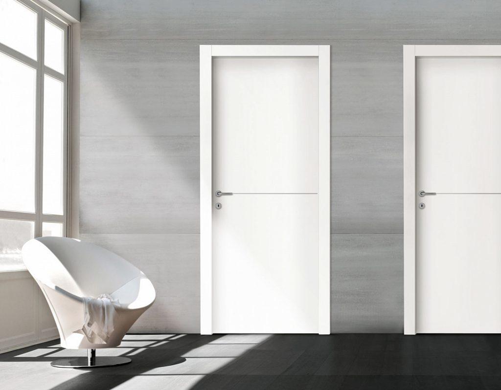 Межкомнатные двери из сендвич-панелей