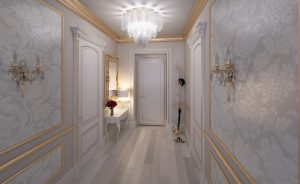 белый коридор