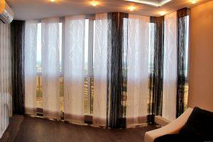 конрастные шторы