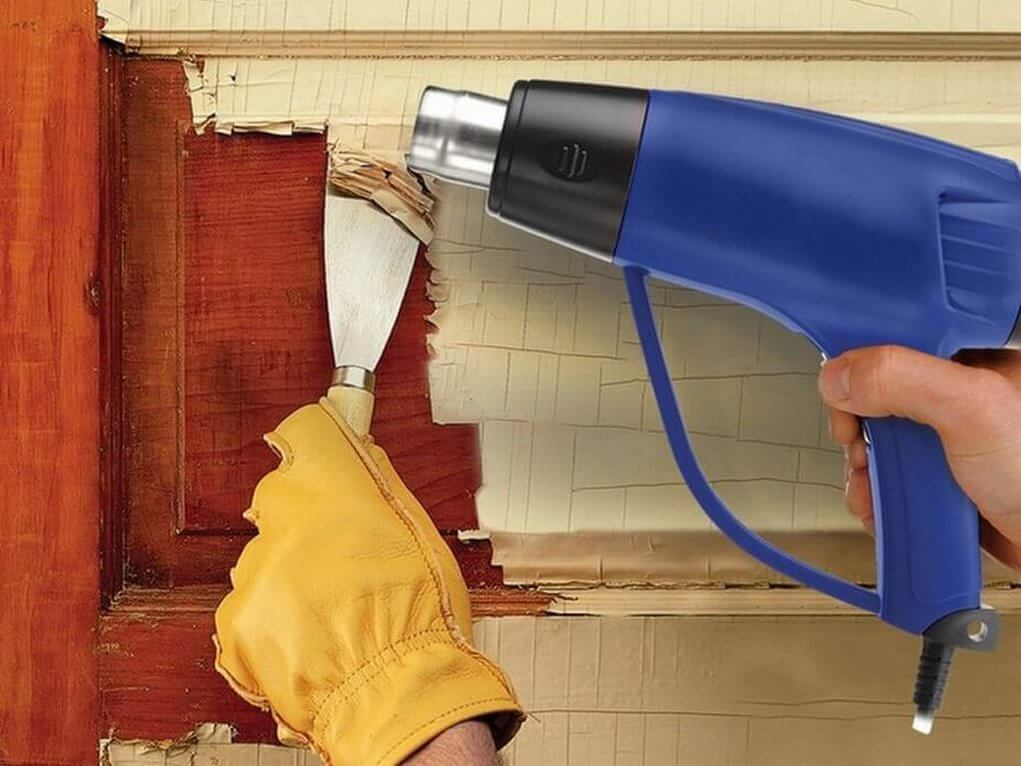 Как снять слой краски с дерева