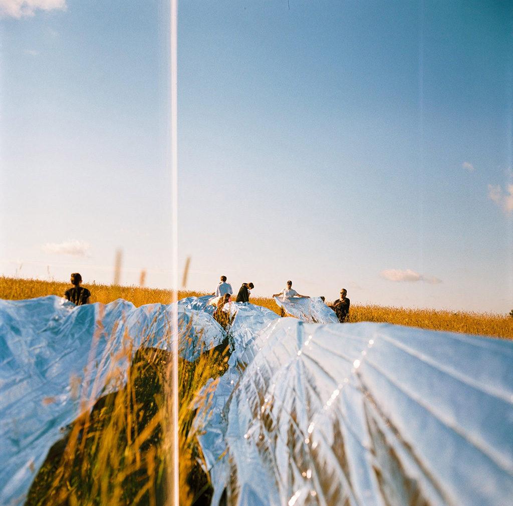 """""""Космическая"""" инсталляция на пустынном фестивале """"Burning Man"""""""