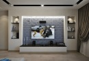 Чем украсить стену за телевизором?