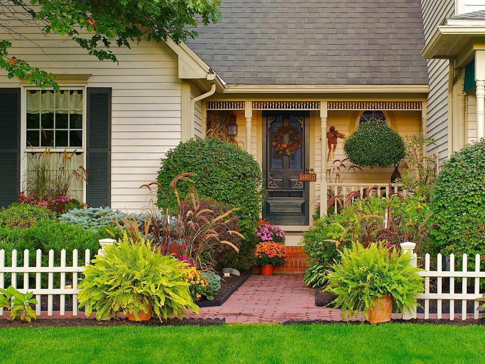 Палисадник возле дома своими руками [советы от профессионалов] - Интерьер