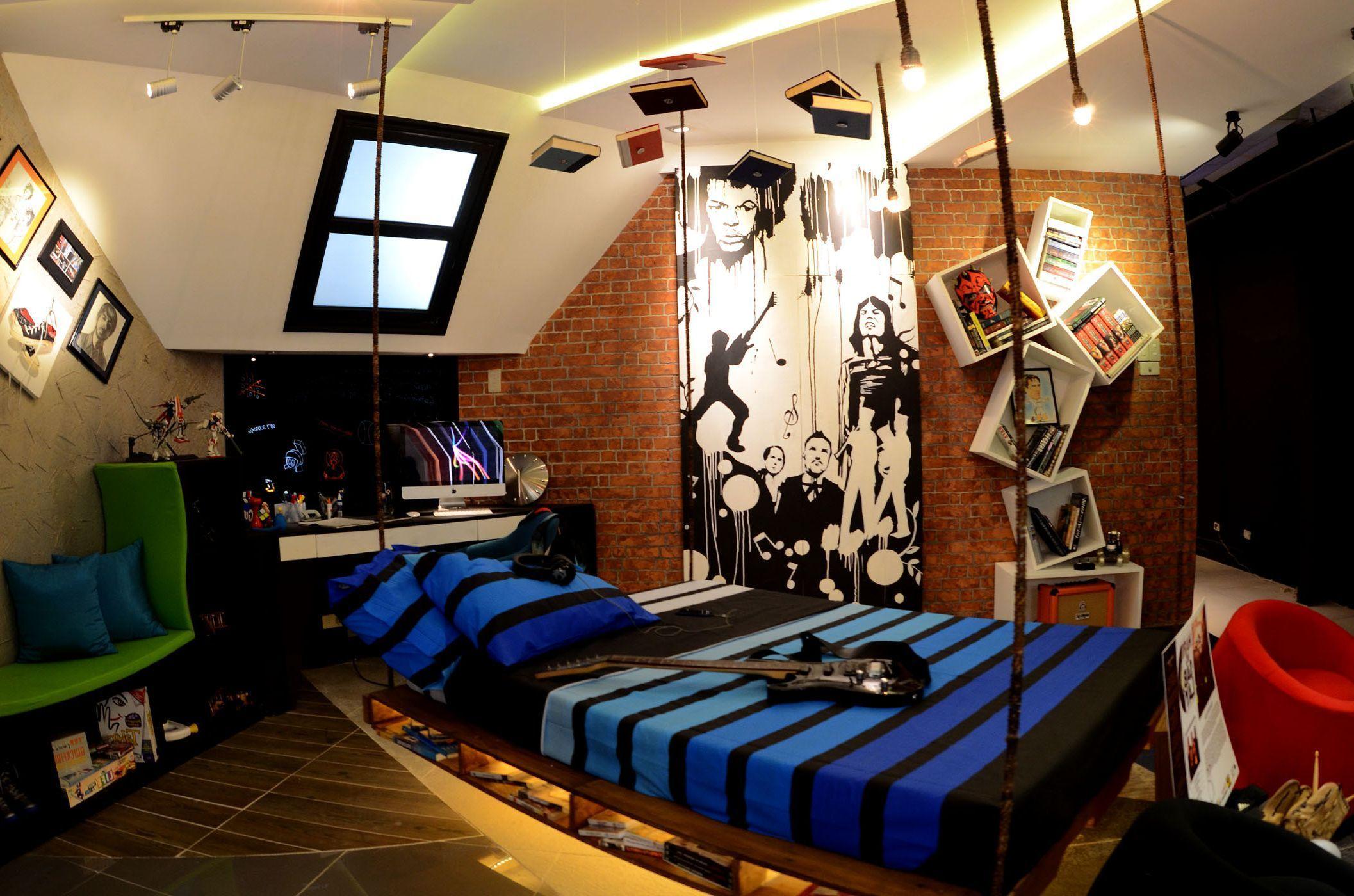 Дизайн и оформление комнаты для студента