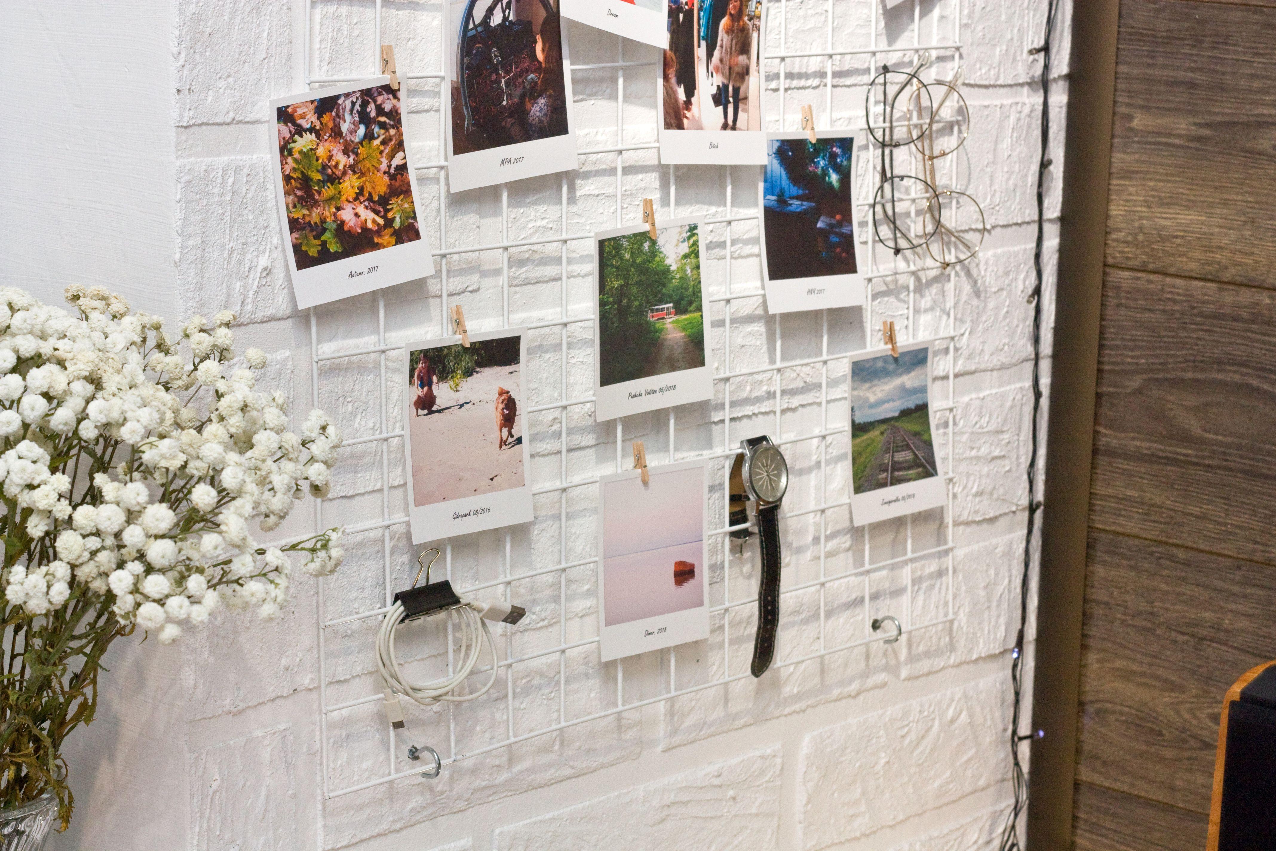 Оформление стены фотографиями [5 интересных вариантов]