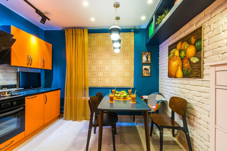 Подбор удобной планировки и гарнитура для кухни 10 кв. м.