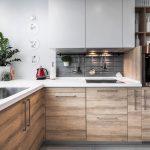 Оформление кухни и кухни-студии 15 кв. м. (+49 фото)