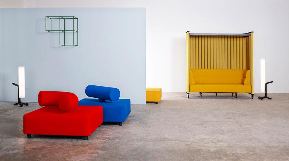 Яркая мебель Jean-Michel Willmotte