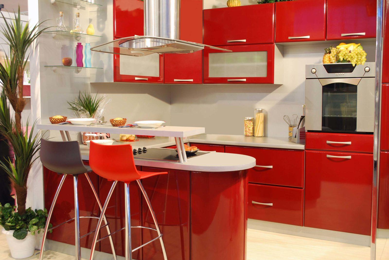 Маленькая кухня: расширение пространства с помощью цветов
