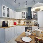 Как правильно и красиво оформить кухню 3 на 3 метра?