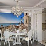 Фотообои 3Д на стену кухни: от А до Я