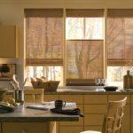 Выбор штор в маленькую кухню — психология цвета