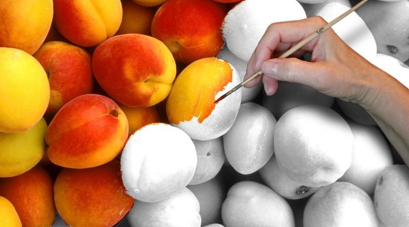 Оттенки персикового цвета
