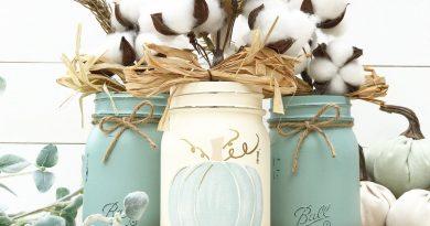 Как сделать вазу в скандинавском стиле?