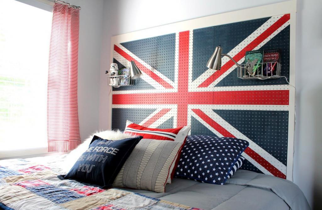 Спальня в стиле Лондон