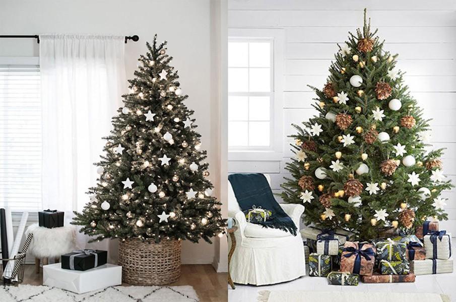 Искусственная или живая? Какую елку выбрать под разный интерьер?