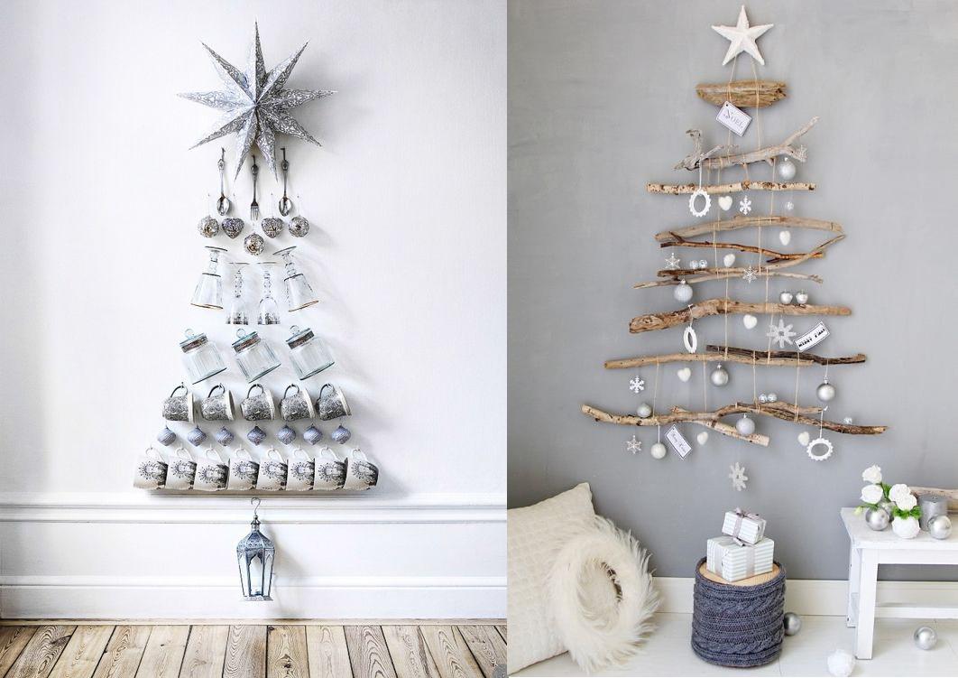 Чем заменить елку в интерьере на новый год?