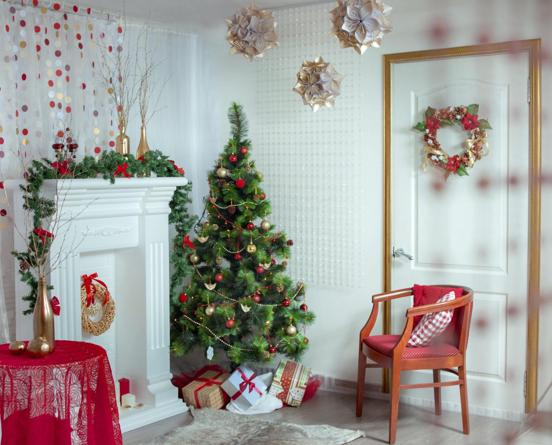 Как просто и стильно украсить дом к зимним праздникам? - Интерьер