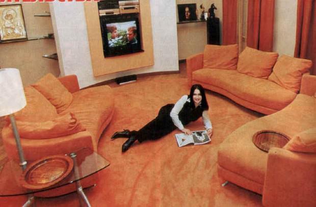 Где живет София Ротару сейчас и все ее дома - Интерьер