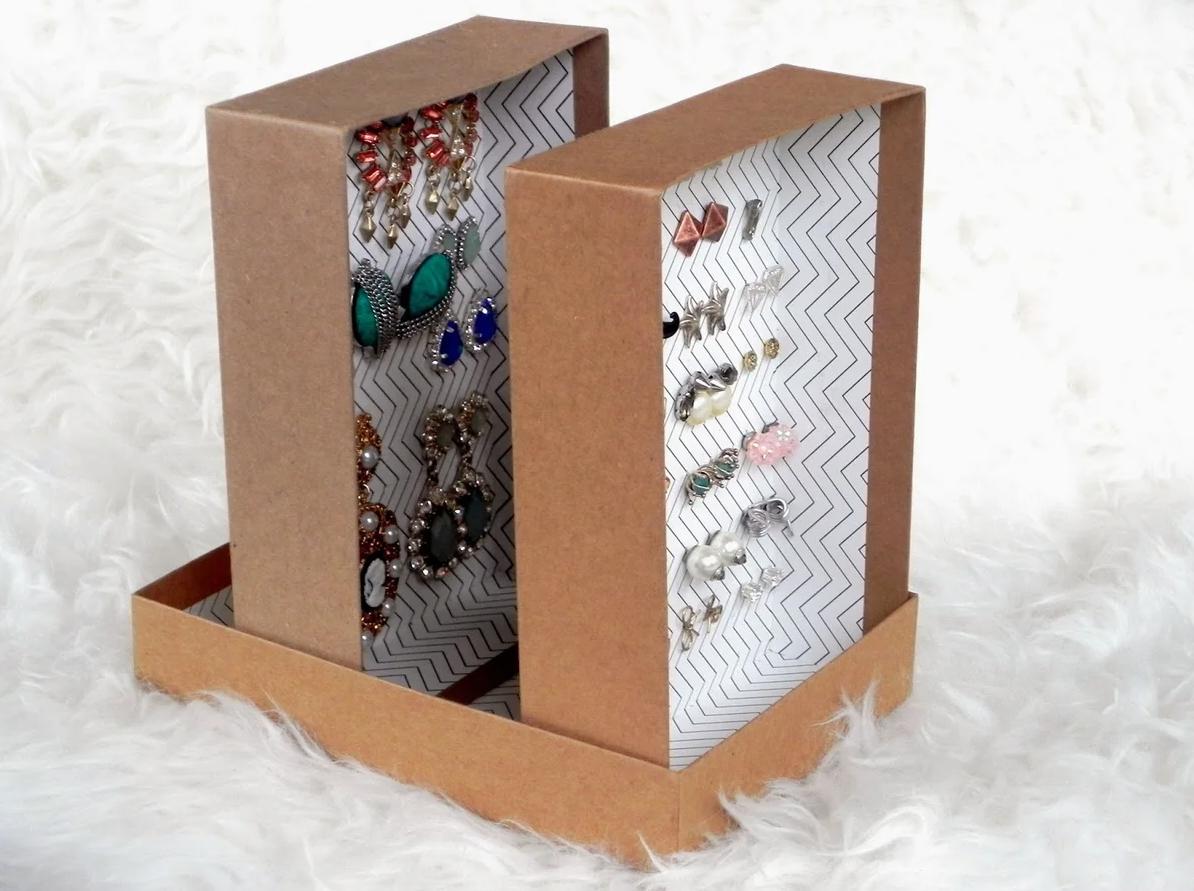 Нижнее белье, косметика и еще 10 вещей которые можно хранить в обувных коробках - Отделка