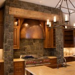 каменная кладка в интерьере дома