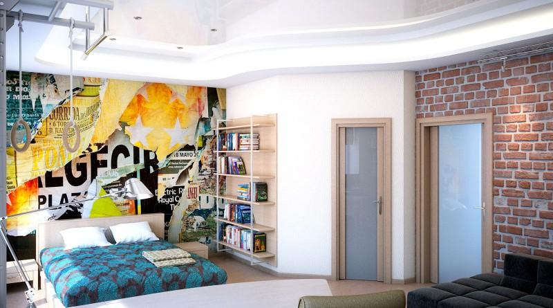 Интерьер комнаты для подростка