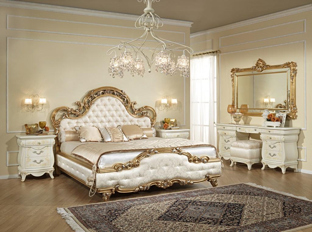 дизайн спальни классика