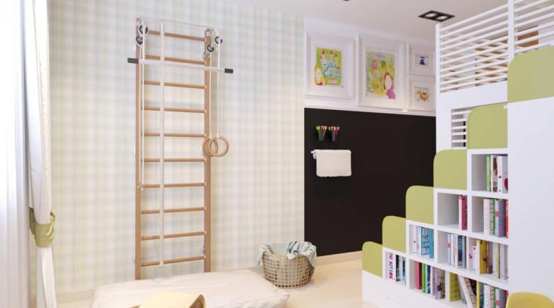 Стена для творчества в детской